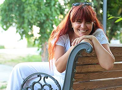 Ukraine bride  Oksana 41 y.o. from Stakhanov, ID 55950